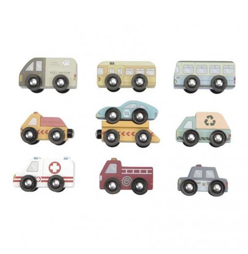 9 Vehículos de madera -...