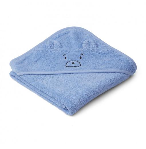 Toalla bebé Mr. Bear azul -...
