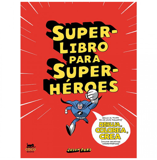 Superlibro para superhéroes...