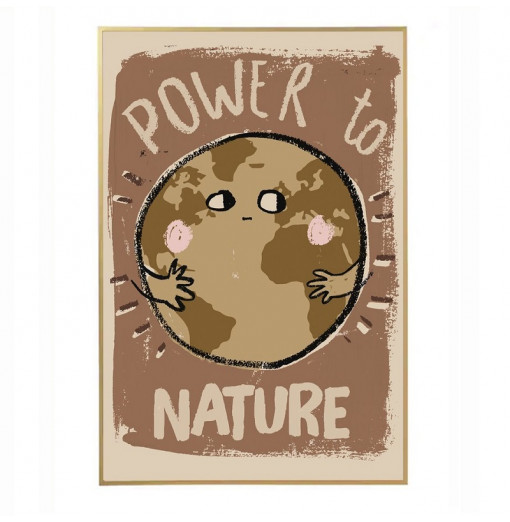 Póster Power to Nature -...