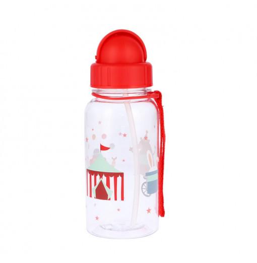 Botella con pajita Circus