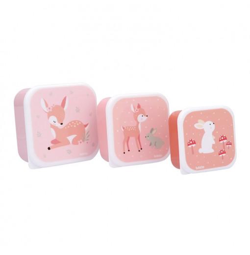 Set de 3 fiambreras Sweet Deer