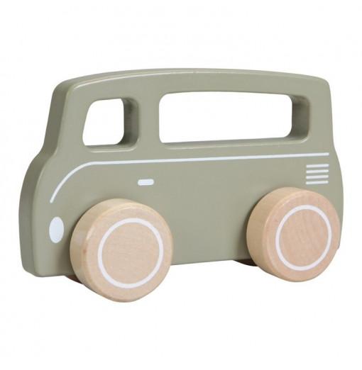 Camioneta de madera oliva -...