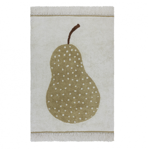 Alfombra lavable Pear -...