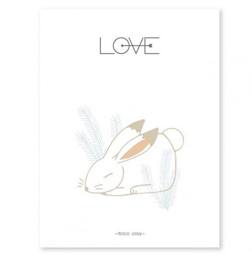 Lámina Sweet Rabbit -...