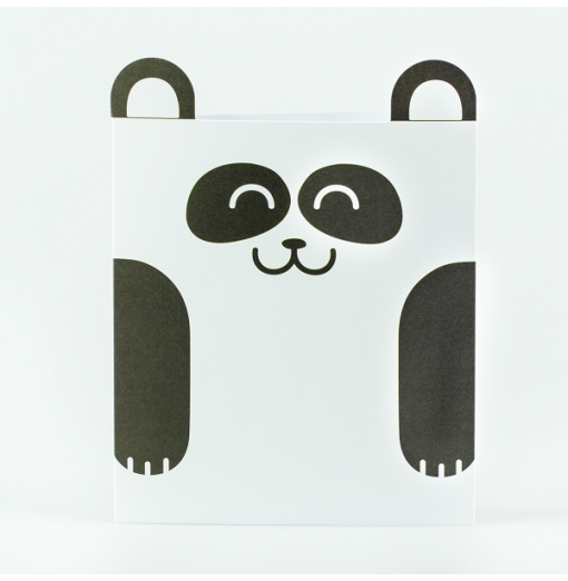 Tarjeta oso panda - Mr....