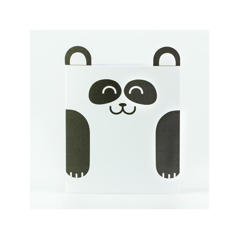 Tarjeta oso panda - Mr. Wonderful