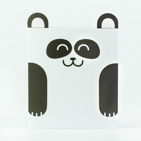 Tarjeta oso panda - Mr. Wonderful