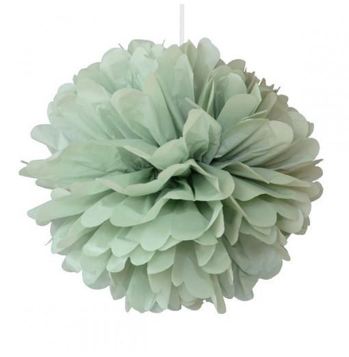 Pompom verde pastel 25 cm de Engel
