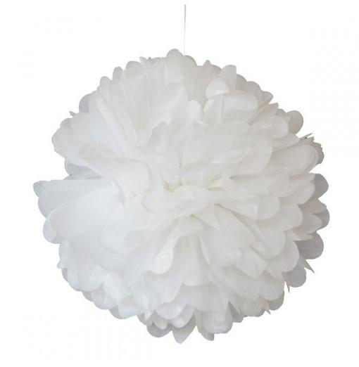 Pompom blanco 25 cm de Engel