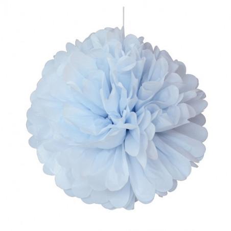 Pompom azul pastel 25 cm de Engel