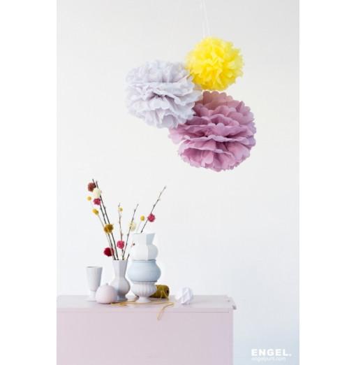Pompom lila de Engel