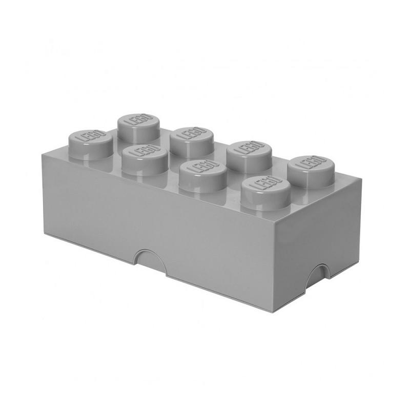 Caja de almacenaje LEGO 8 blanca