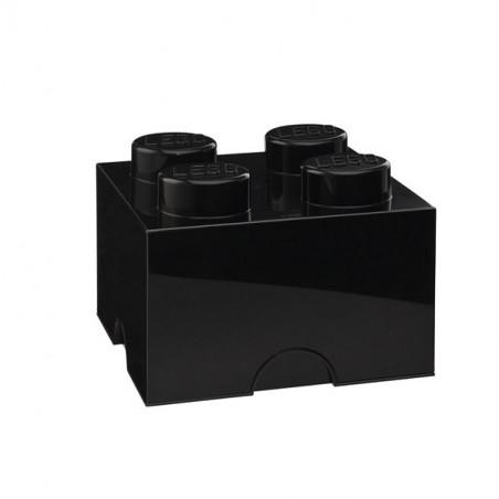 Caja de almacenaje LEGO 4 negra