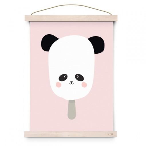 """Lámina """"Panda pop"""" - Eef Lillemor"""