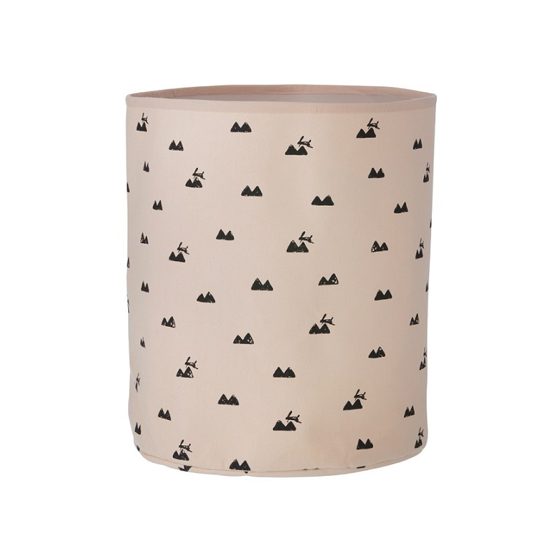 Cesta Rabbit rosa de Ferm Living
