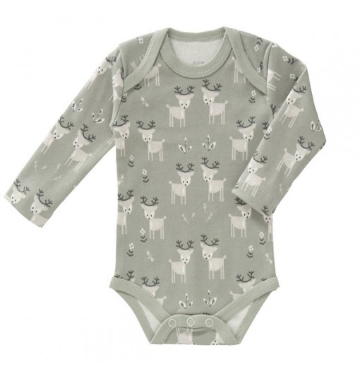 "Body manga larga ""Deer Ash"" gris"