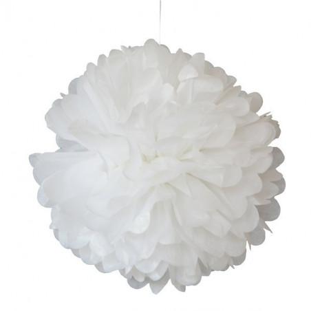 Pompom blanco 30 cm de Engel