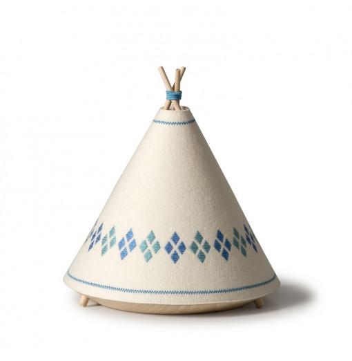 Lámpara tipi azul - Buokids
