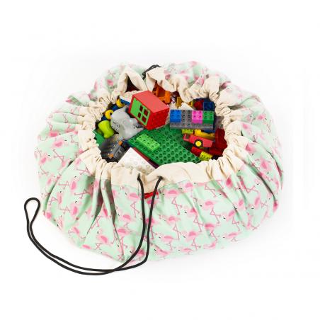 Saco de almacenaje Flamingo - Play & Go