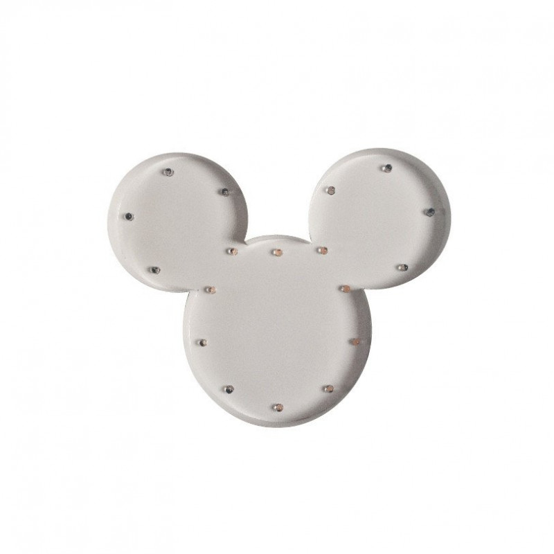 Mickey luminoso blanco