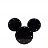 Mickey luminoso negro
