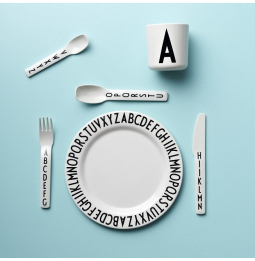 Plato de melamina - Design Letters