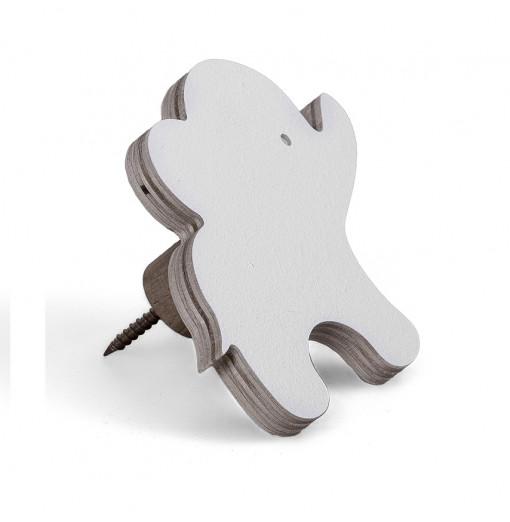 Colgador elefante blanco