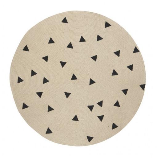 "Alfombra redonda ""Triangle"" - Ferm Living"