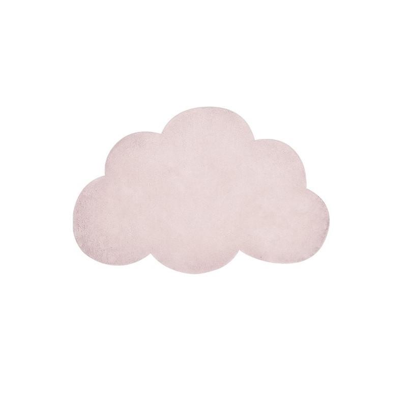 Alfombra nube rosa nude- Lilipinso