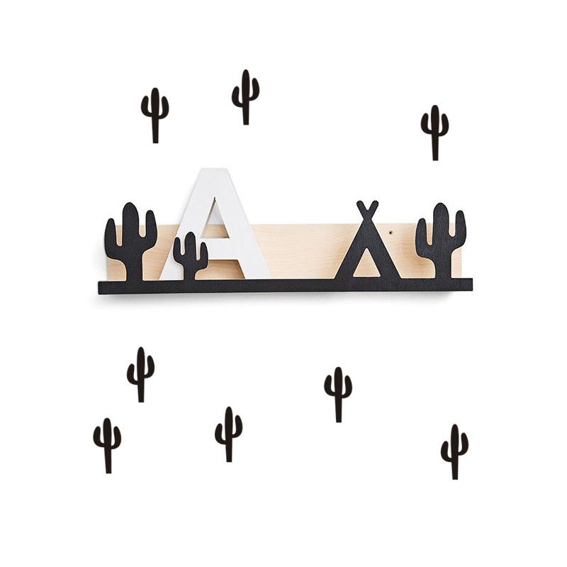 Vinilo cactus negro