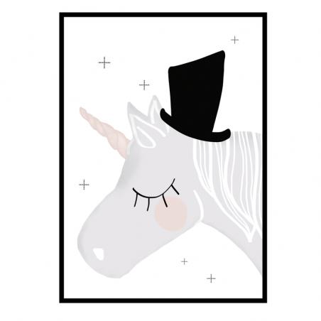 """Lámina """"Unicornio"""" - Amayadeeme"""
