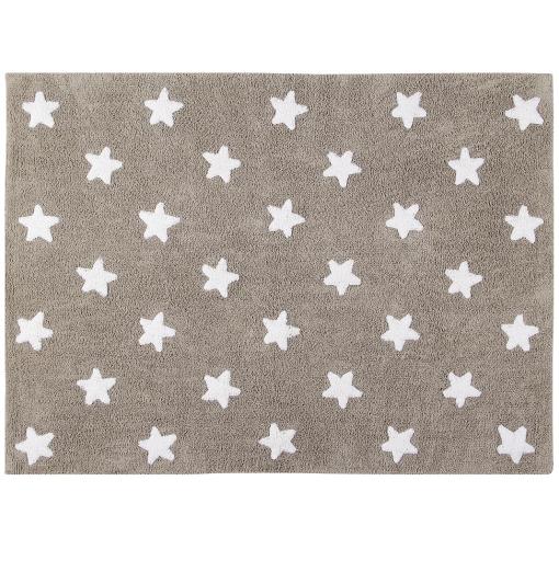 Alfombra estrellas color lino - Lorena Canals