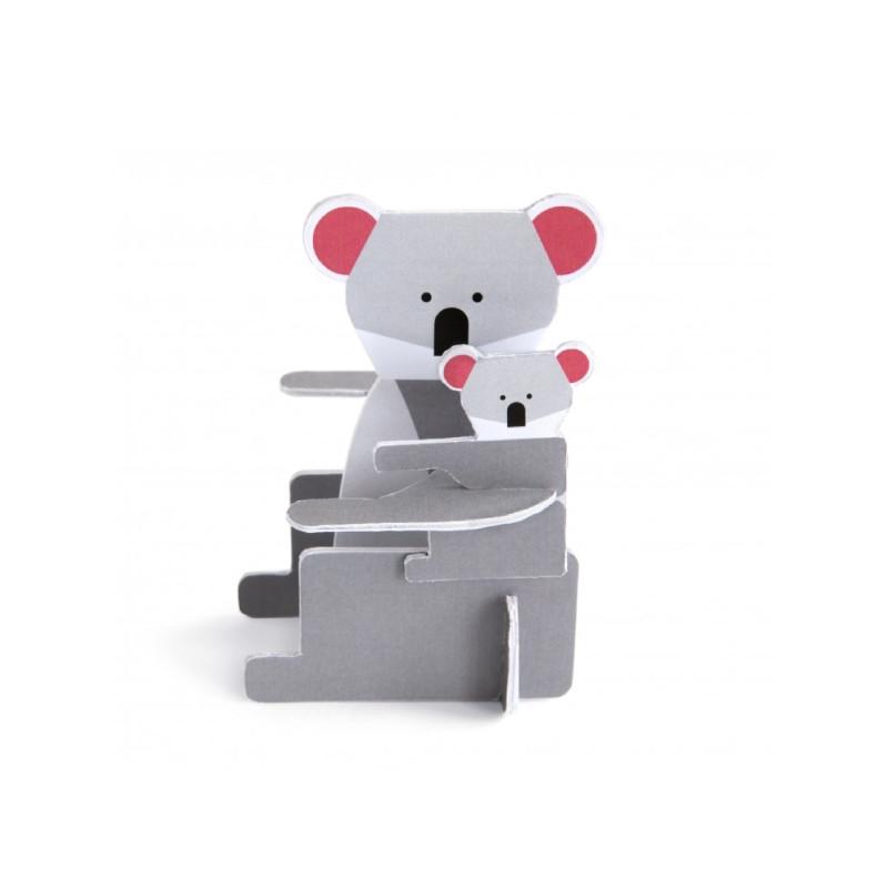 Tarjeta pop-up koala - Studio Roof