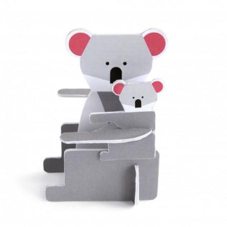 Tarjeta pop-out koala - Studio Roof