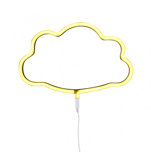 Luz led estilo neón en forma de nube - A Little Lovely Company