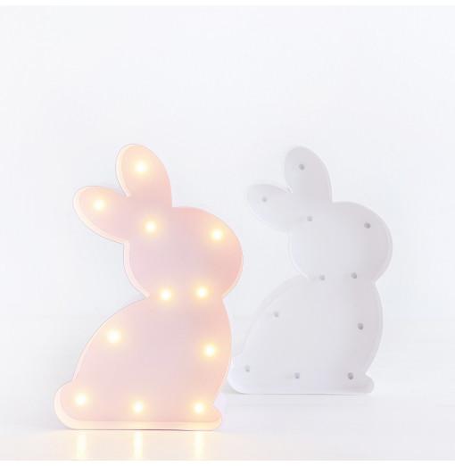 Conejito luminoso blanco