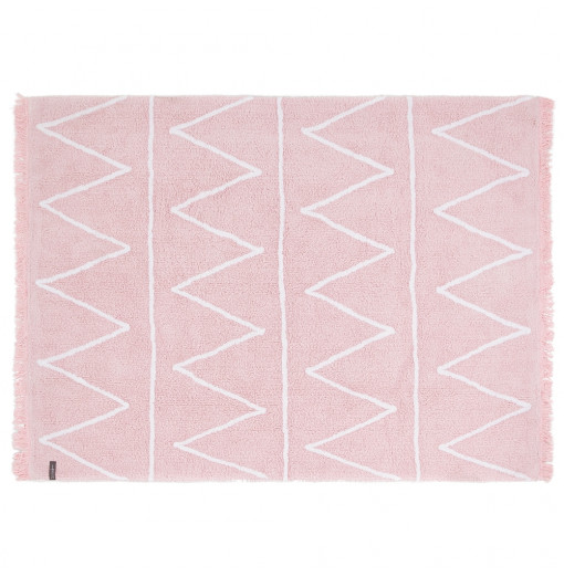 Alfombra Hippy Soft Pink - Lorena Canals