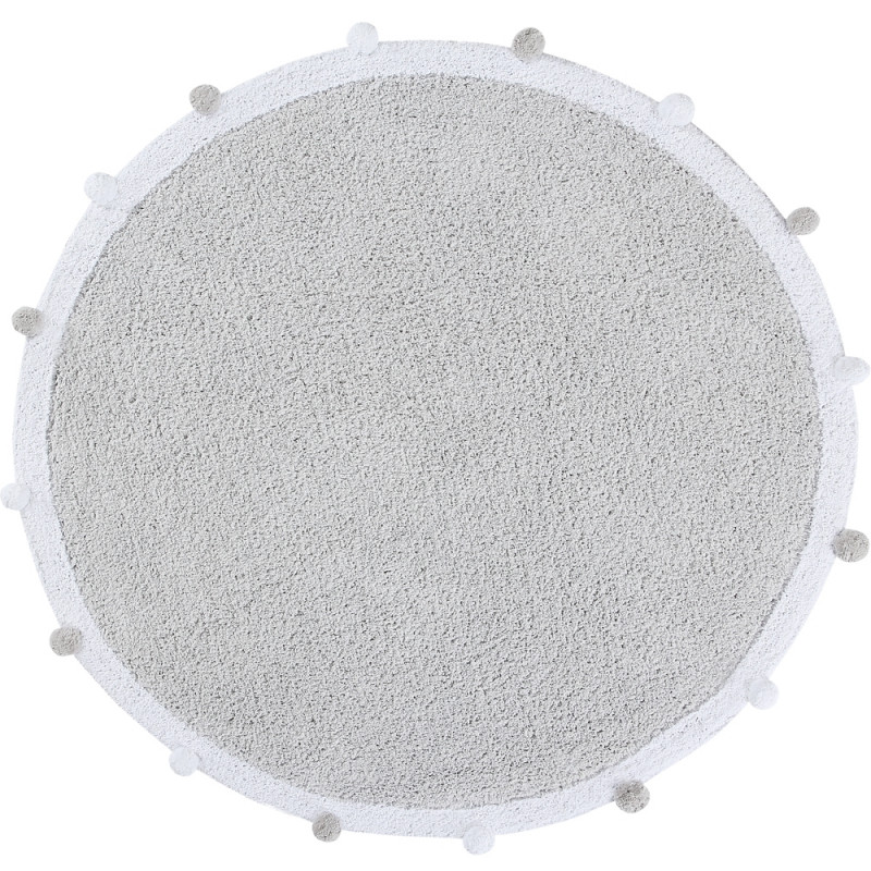 Alfombra Bubbly Light Grey - Lorena Canals