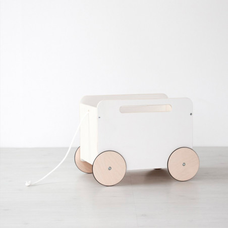 Toy chest on wheels - Ooh noo