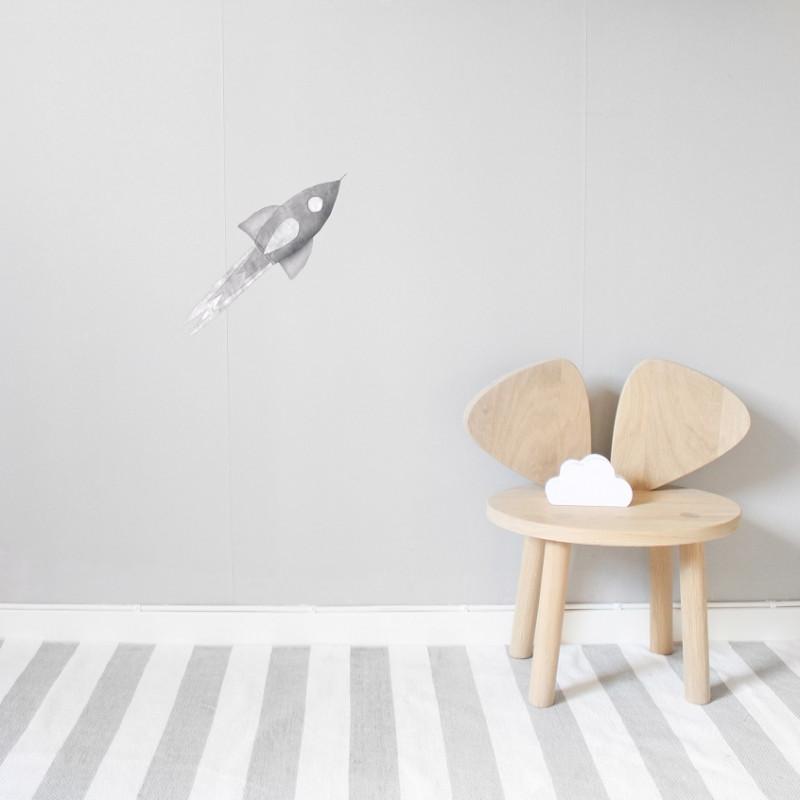 Vinilo Grey Rocket - Stickstay