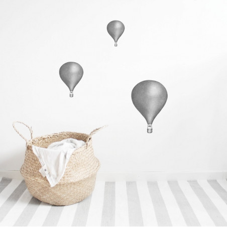 Vinilo Balloons gris - Stickstay
