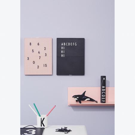 Set de letras en negro para Message board - Design Letters