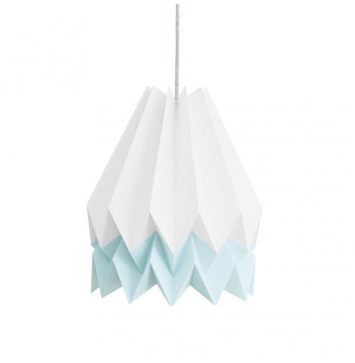 Lámpara Polar blanca/mint - Orikomi