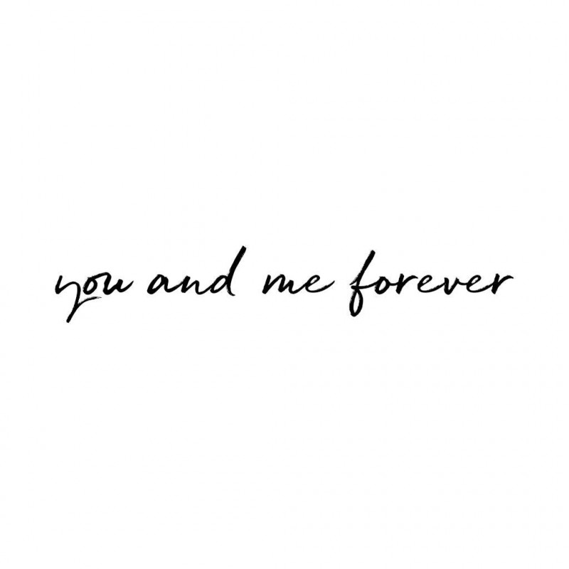 "Vinilo ""you and me forever"" - Stickstay"