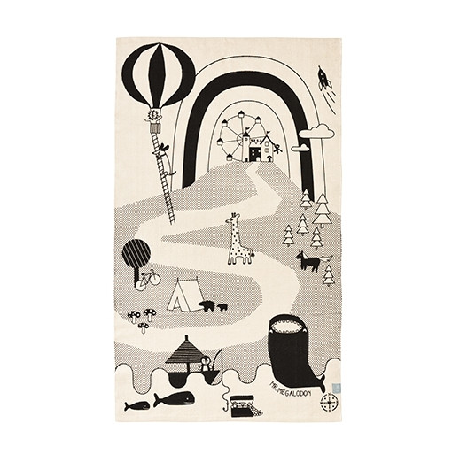 Mr. Megalodon Adventure alfombra - OYOY