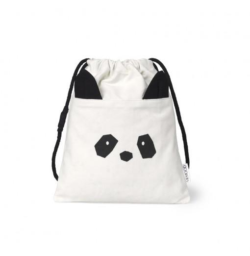Bolsa de merienda Panda reversible - Liewood