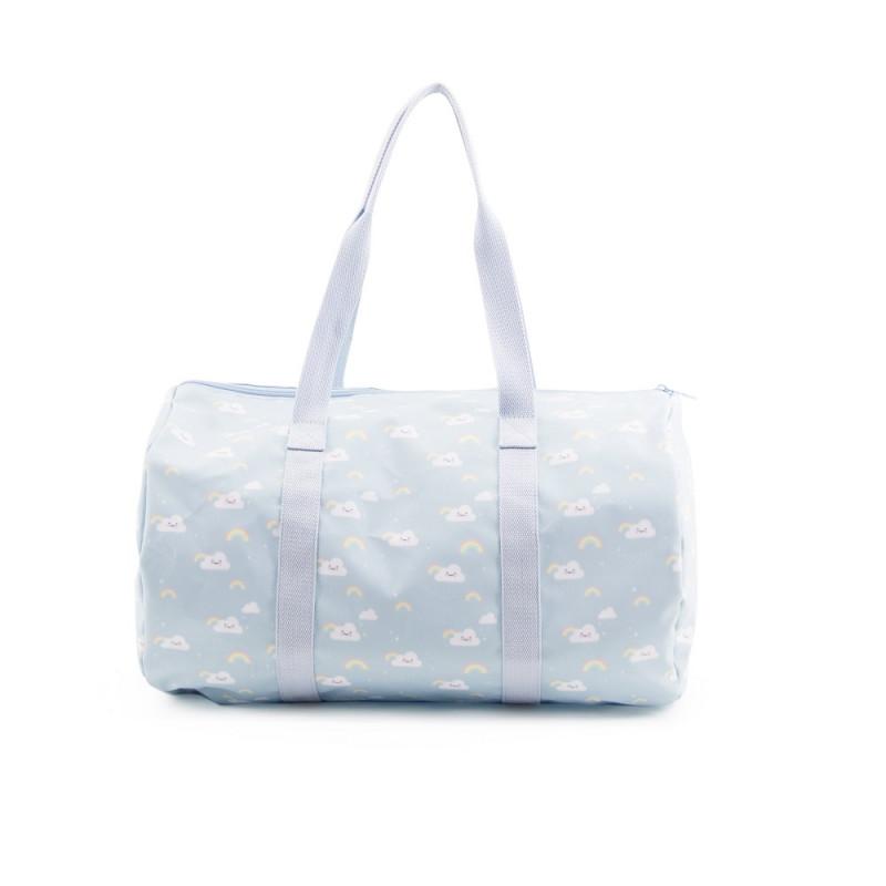 Bolsa de viaje arcoíris azul - Eef Lillemor