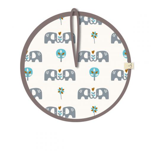 "Portachupete ""Elefant"" azul..."