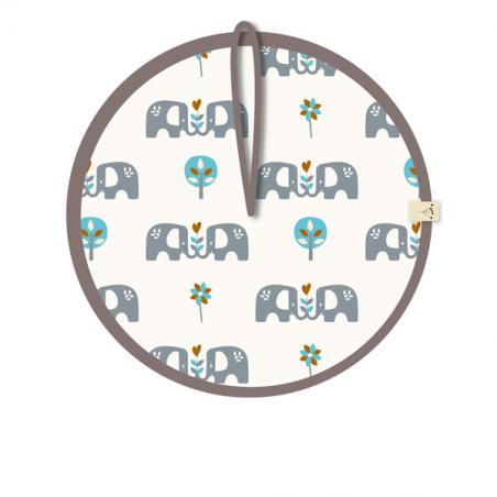 "Portachupete ""Elefant"" azul - Fresk"